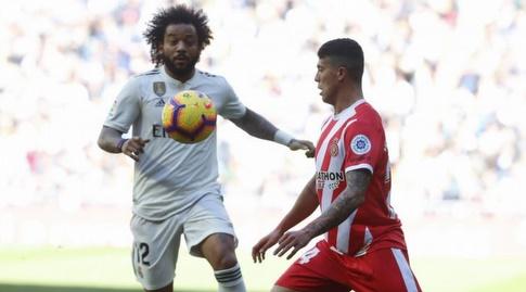 מרסלו מנסה לגנוב את הכדור (La Liga)