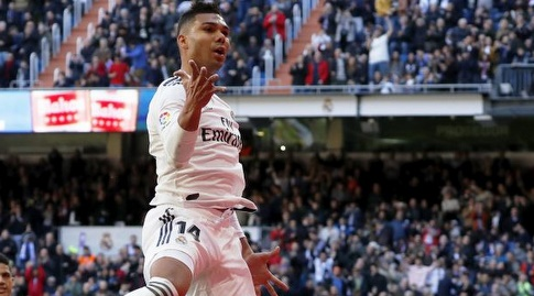 קאסמירו חוגג (La Liga)