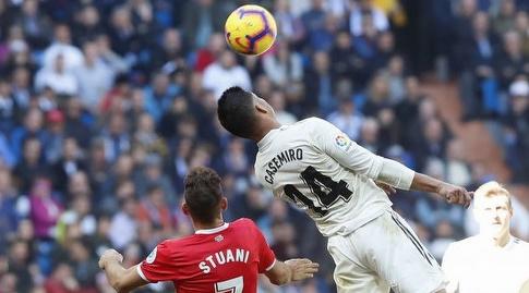 קאסמירו עולה לנגיחה (La Liga)