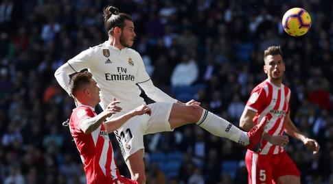 גארת' בייל מנסה לבעוט (La Liga)