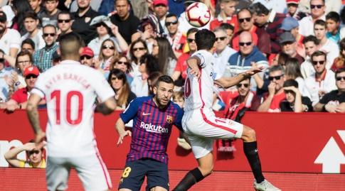 חסוס נבאס מול ג'ורדי אלבה (La Liga)
