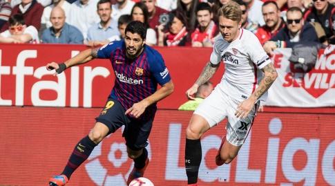 לואיס סוארס אחרי הכדור (La Liga)
