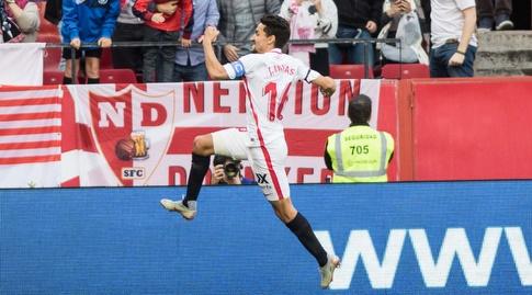 חסוס נבאס חוגג (La Liga)