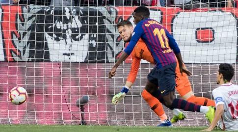 אוסמן דמבלה מול תומאש ואצליק (La Liga)