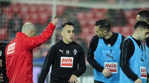 פביאן אוריאנה בחימום (La Liga)