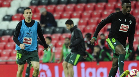 פאפאקולי דיופ ושארלס בחימום (La Liga)