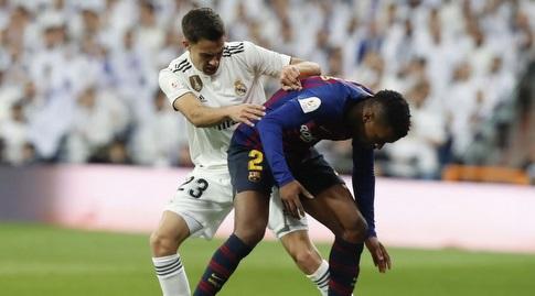 סרחיו רגילון במאבק עם נלסון סמדו (La Liga)