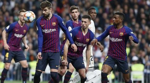 ג'רארד פיקה מרחיק את הסכנה (La Liga)