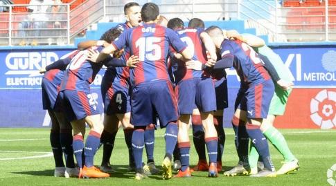 שחקני אייבר לפני המשחק (La Liga)