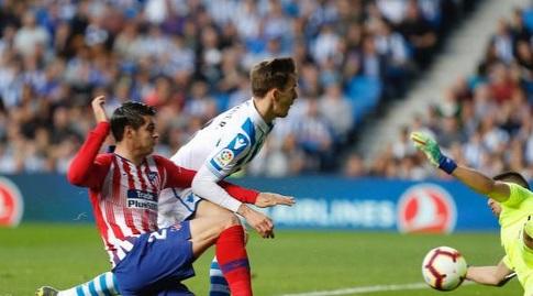 מוראטה כמעט כובש (La Liga)
