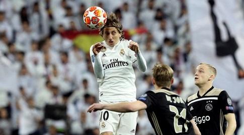 לוקה מודריץ' נוגח (La Liga)