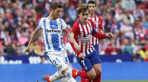 רובן פרס מנסה לעצור את אנטואן גריזמן (La Liga)