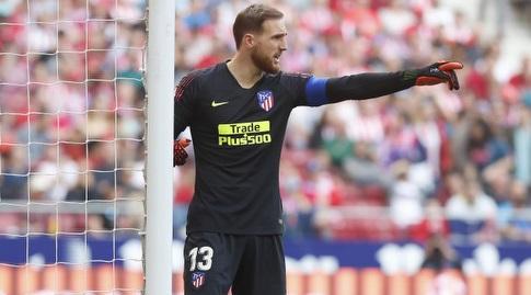 יאן אובלק. עוד משחק בו היה כמעט ללא עבודה (La Liga)