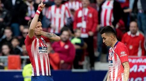 סאול ניגס חוגג (La Liga)