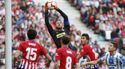 יאן אובלק. עוד משחק, עוד רשת נקייה (La Liga)