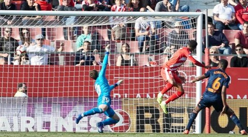 רמאליו נוגח את השער (La Liga)