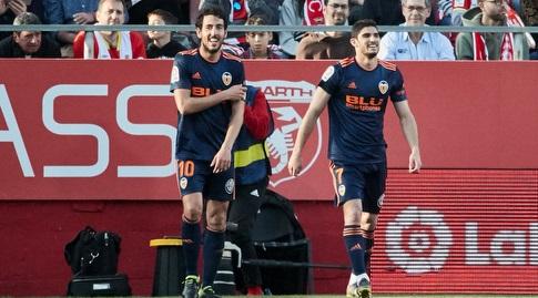גונסאלו גדש ודני פארחו חוגגים (La Liga)