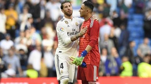 קיילור נבאס עם סרחיו ראמוס (La Liga)