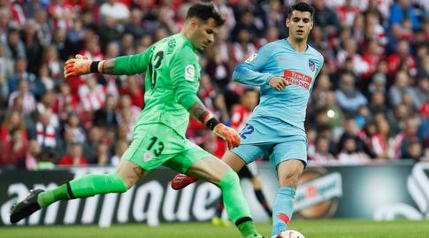 יאגו הררין מרחיק את הכדור (La Liga)