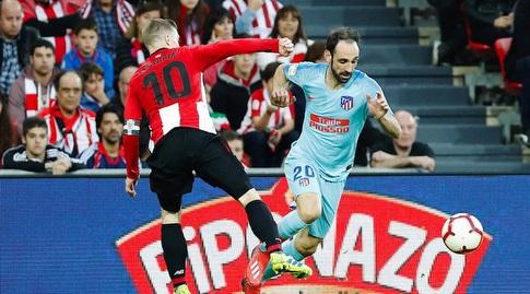 חואנפראן מתקדם עם הכדור (La Liga)