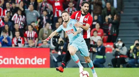 ראול גארסיה עם סאול ניגס (La Liga)