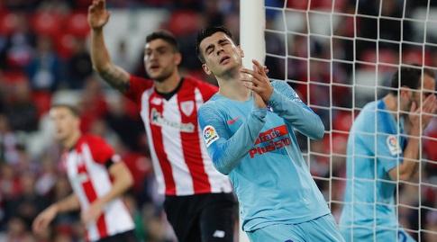 אלברו מוראטה מאוכזב (La Liga)