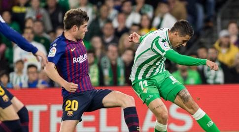 כריסטיאן טייו עם סרג'י רוברטו (La Liga)