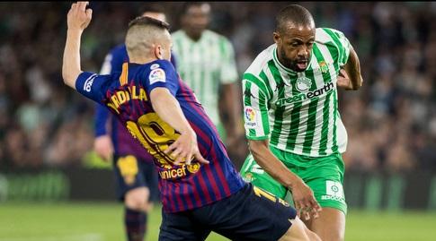 סידניי מול ג'ורדי אלבה (La Liga)