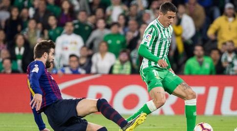 ג'רארד פיקה גולש מול כריסטיאן טייו (La Liga)