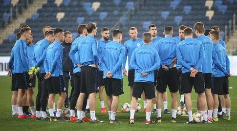 אימון נבחרת סלובניה (רדאד ג'בארה)