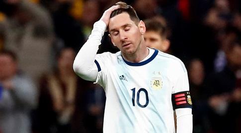 ליאו מסי מאוכזב. ארגנטינה לא תזכה שוב (רויטרס)