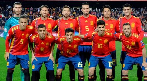 שחקני נבחרת ספרד (רויטרס)