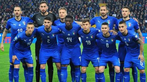 שחקני נבחרת איטליה (רויטרס)
