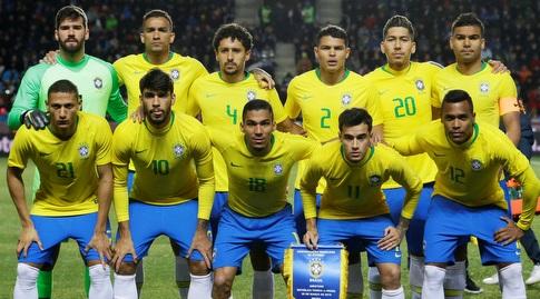 שחקני נבחרת ברזיל (רויטרס)