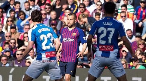 ג'ורדי אלבה מוסר (La Liga)