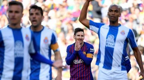 ליאו מסי אחרי ההחמצה (La Liga)