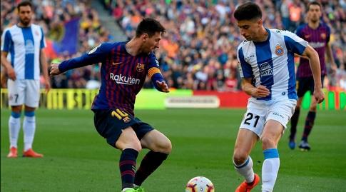 ליאו מסי עם הכדור (La Liga)
