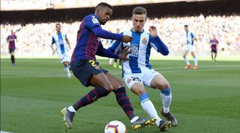 נלסון סמדו נלחם על הכדור (La Liga)