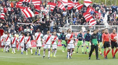 שחקני ראיו וייקאנו ובטיס עולים למגרש (La Liga)