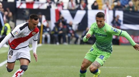 כריסטיאן טייו ואלברו גארסיה אחרי הכדור (La Liga)
