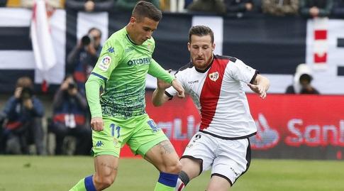 כריסטיאן טייו עם הכדור (La Liga)