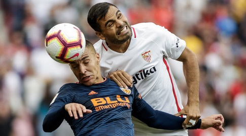 גבריאל מרקאדו עם רודריגו מורנו (La Liga)