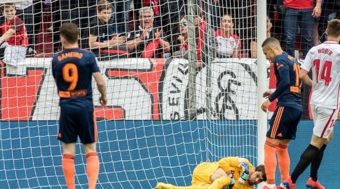 חאבי דיאס קולט את הכדור (La Liga)