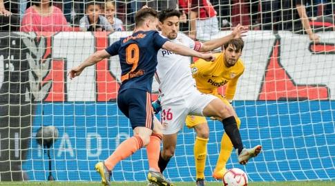 קווין גאמיירו מול השער (La Liga)