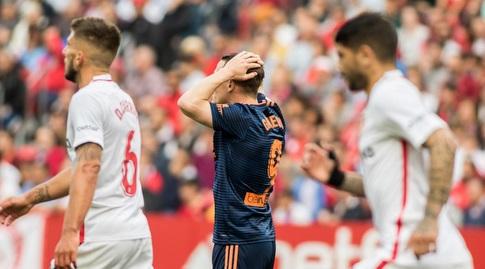 קווין גאמיירו תופס את הראש (La Liga)