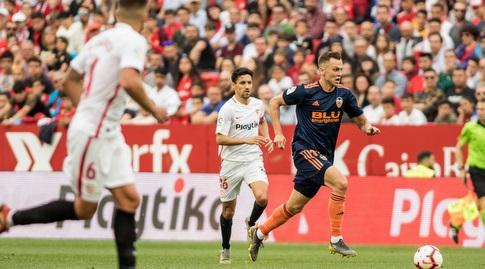 דניס צ'רישב עם הכדור (La Liga)