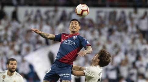 קוצ'ו הרננדס עולה לנגיחה (La Liga)