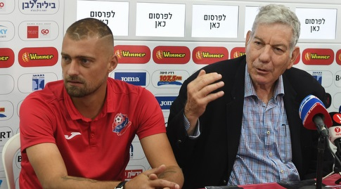 יואב כץ וגבריאל תאמאש (עמרי שטיין)