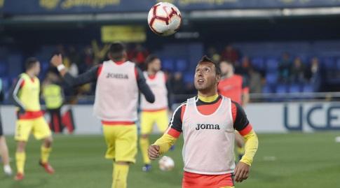 סנטי קאסורלה בחימום (La Liga)