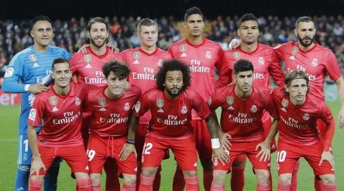 שחקני ריאל מדריד בתמונה הקבוצתית (La Liga)